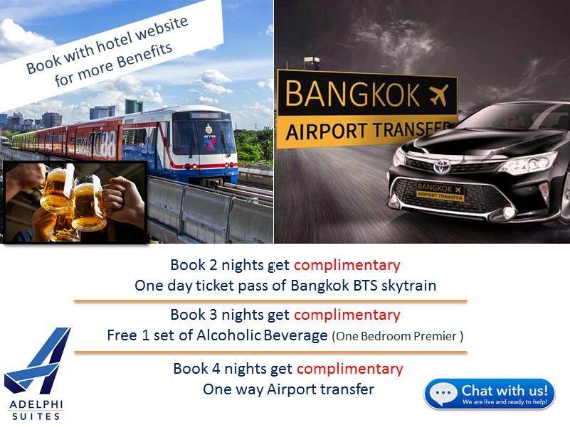 Service Apartment Bangkok | Adelphi Suites Sukhumvit